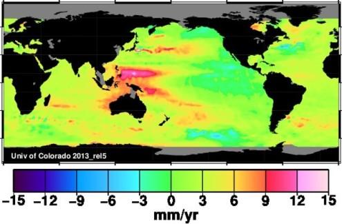 Sea Level Rise, olika